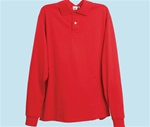 Adaptive Long Sleeve Polo Shirt