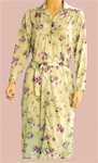 Long Sleeve Polyester Day Dress