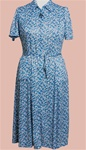 Short Sleeve Polyester Day Dress