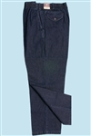 Elastic Waist Blue Jeans - Large sizes