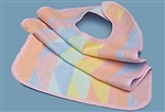 Rainbow Terry Cloth Bib